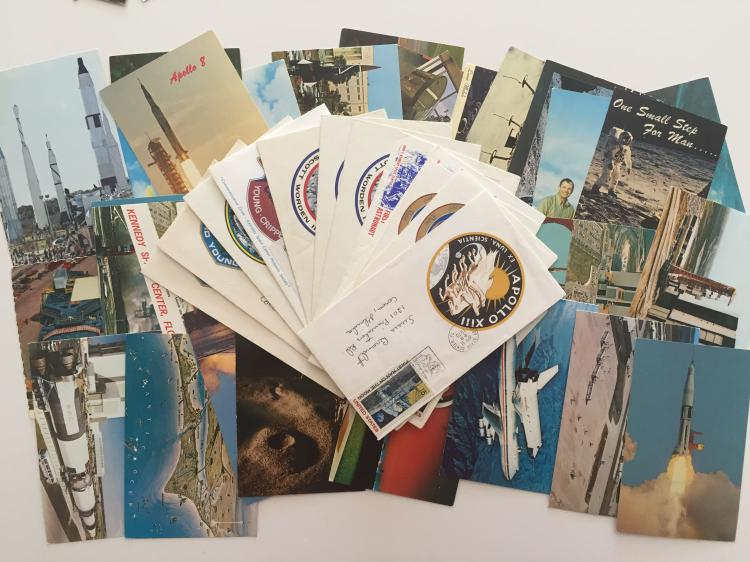 Unused Postcards and covers from KSC