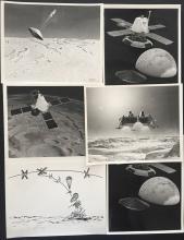 Viking Mars lander concept photographs