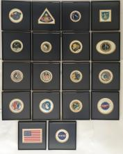 Apollo Beta Cloth collection Framed and ready for display