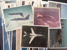 Military Aircraft lithographs mostly from Grumman