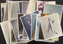 Military and civilian aircraft photographs and lithographs