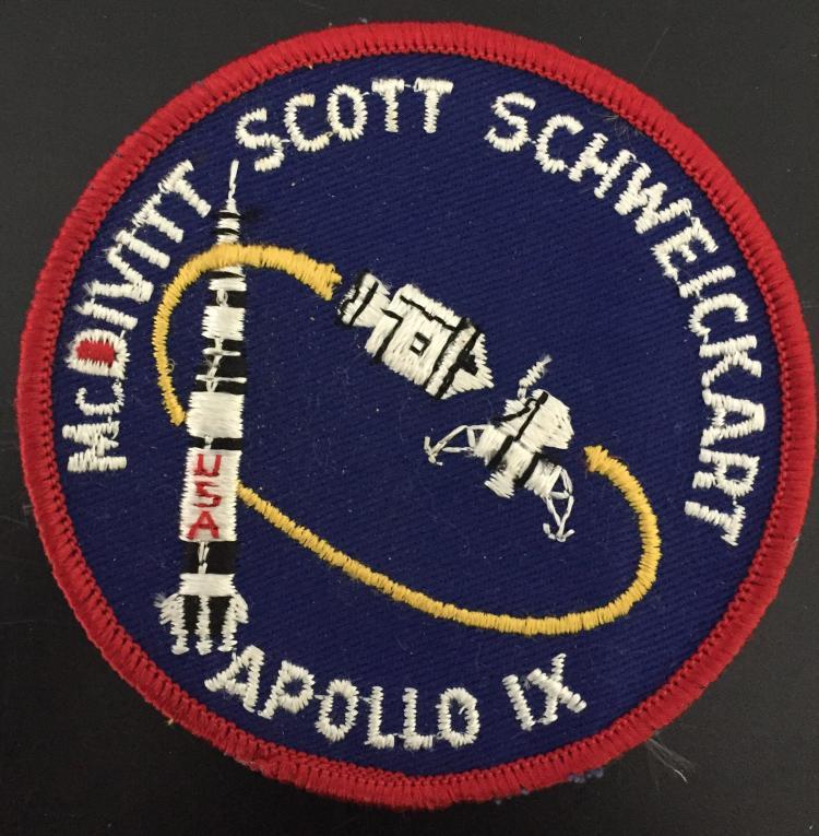 Apollo 9 souvenir patch