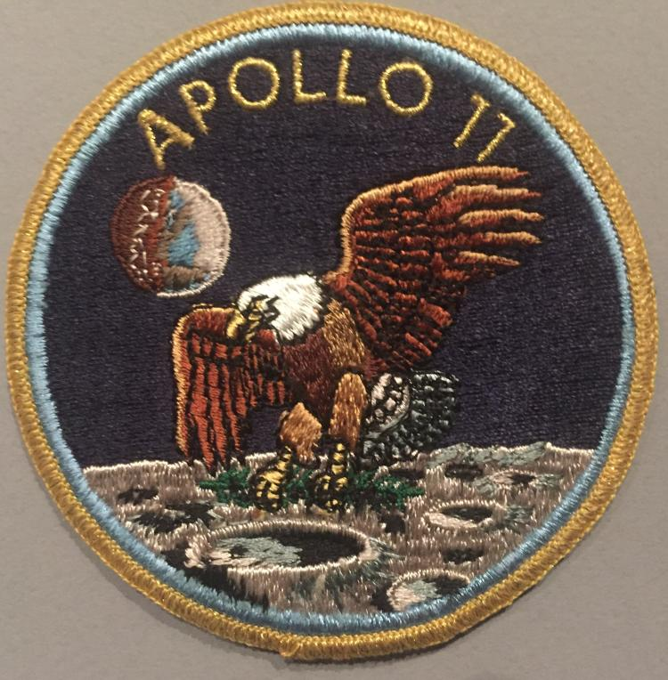 Apollo 11 unique crew patch