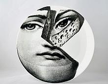 Vintage Fornasetti Plate Tema E Variazioni #106 of Lina Cavalier.