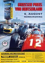 Poster by Michael Turner - Grosser Preis von Deutschland Nürburgring