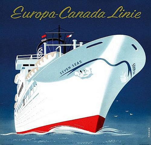 Dirksen Reyn (1924-1999) Europa-Canada Linie Seven