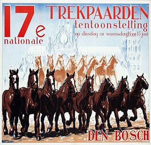 Tadema A.A. (1913-1989) 17e Trekpaarden