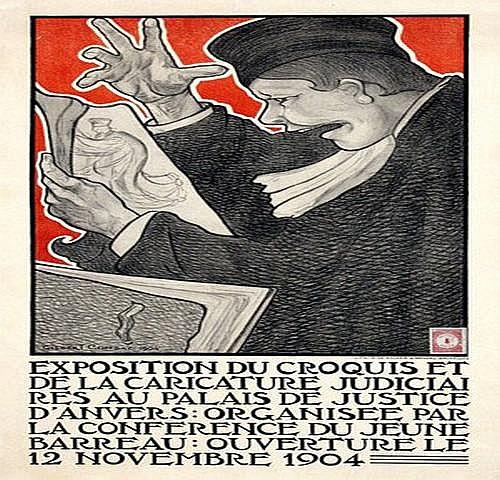 Combaz Gisbert (1869-1941) Exposition du Croquis
