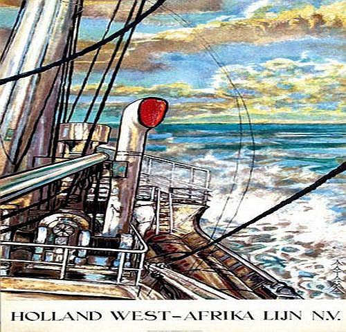 Tadema A.A. (1913-1989) Holland West-Afrika Lijn