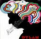 Glaser Milton (1929-) Dylan 56x84, 1966, on japan, Milton Glaser, Click for value
