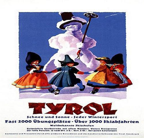Berann Heinrich (1915-1999) Tyrol 63x94,5, ca.