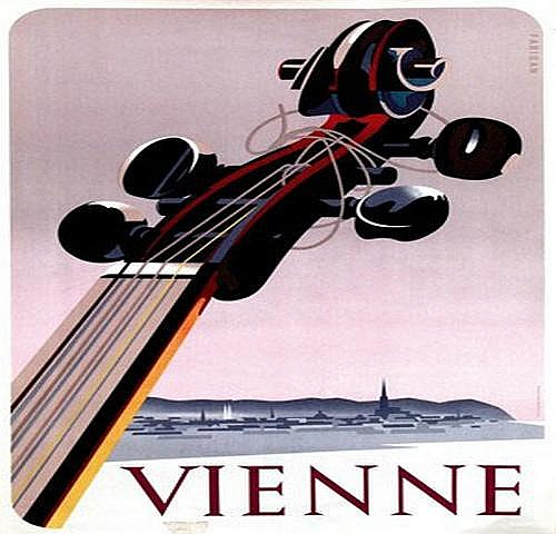 Fabigan Hans (1901-1975) Vienne 59x83, ca. 1950,