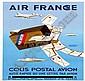 Morvan Hervé (1917-1980) Air France Colis Postal, Hervé Morvan, Click for value