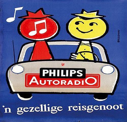 Bolleman Hans (1923-1968) Philips Autoradio