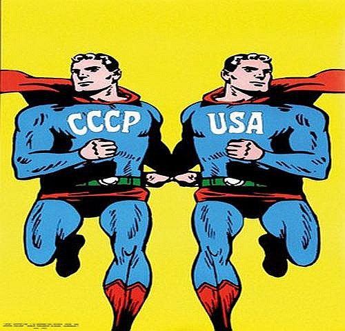 Cieslewicz Roman (1930-1996) CCCP USA 55x82, 1968,