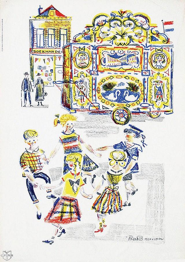Posters (2) by Bert Bouman - Boekenhandel