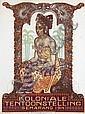 Poster by Albert Hahn sr. - Koloniale Tentoonstelling, Albert Hahn, Click for value