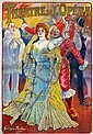 Poster by Georges Redon - Théâtre de l'Opéra, Georges Redon, Click for value
