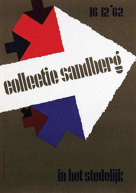 Poster by Wim Brusse - collectie sandberg