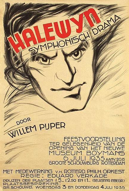 Poster by Agnès Canta - Halewyn symphonisch drama