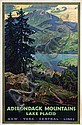 Poster by Walter L. Greene - Adirondack Mountains Lake Placid, Walter L Greene, Click for value