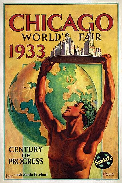 Poster by Hernando G. Villa - Chicago World's Fair