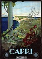 Poster by Mario Borgoni - Capri Italia, Mario Borgoni, Click for value