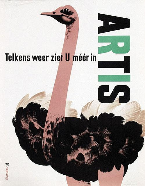Poster by Hans  Bolleman - Artis