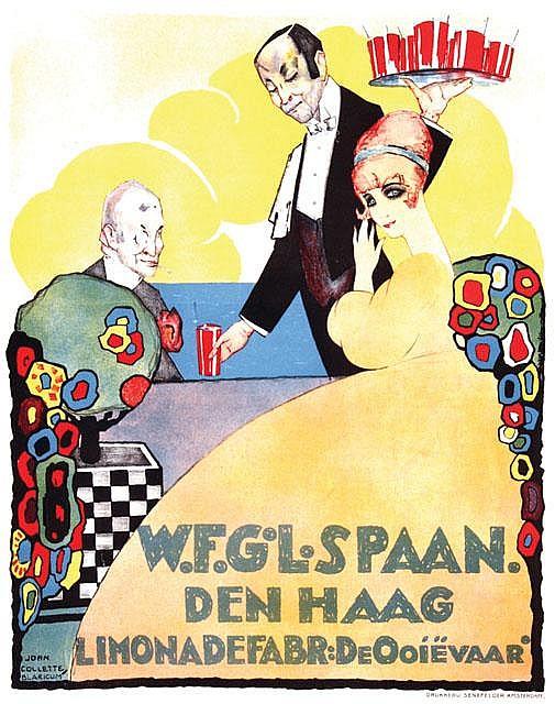 Poster by Joan Collette - W.F.G.L. Spaan Den Haag Limonadefabr: De Ooiëvaar