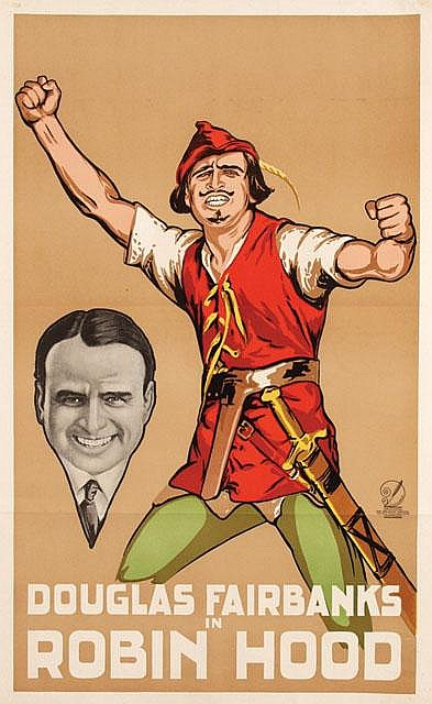 Poster by Frans Bosen - Movie: Douglas Fairbanks in