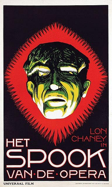 Poster by Frans Bosen - Movie: Lon Chaney in