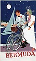 Poster by Adolph Treidler - Bermuda, Adolph Treidler, Click for value