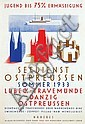 Poster by Alfred Mahlau - Seedienst Ostpreussen, Alfred Mahlau, Click for value