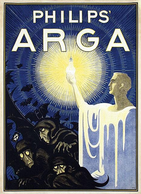 Poster by Albert Hahn Sr. - Philips' Arga