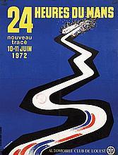 Posters (2) by Jean Jacquelin - 24 Heures du Mans