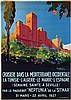 Poster by Giulio Ferrari - Croisière dans le Méditerranée Occidentale, Giulio (1901) Ferrari, €280