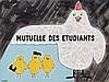 Poster by Raymond Savignac - Mutuelle Des Etudiants, Raymond Savignac, €280