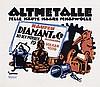 Poster by Ottomar Anton - Altmetalle Diamant & Co., Ottomar Anton, €180
