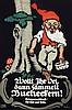 Poster by Julius E.F. Gipkens - Wollt ihr Oel, dan sammelt  Bucherkern!, Julius Gipkens, €100