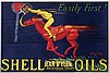 Poster by Jean d' Ylen - Shell Oils Exposition Jean d'Ylen Bibliotheque Forney Paris, Jean D'ylen, €100