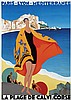 Poster by Roger Broders - Plage de Calvi, Corse, Roger Broders, €100