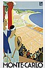 Poster by Roger Broders - Monte-Carlo, Roger Broders, €90