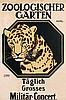 Poster by Hans R. Erdt - Zoologischer Garten, Hans Rudi Erdt, Click for value