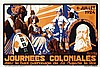 Poster by Joseph van den Bergh - Journees Coloniales, Joseph