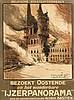 Poster by Alfred Bastien - Belgische Staatsspoorwegen. Bezoekt Oostende IJzerpanorama (Ypres Alfred Bastien), Alfred Bastien, €280