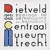 Poster by Gerrit T. Rietveld - Rietveld bijdrage tot vernieuwing der bouw-kunst, Gerrit Rietveld, €650