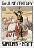 Poster by Eugène Grasset - The June Century, Napoleon in Egypt, Eugene Grasset, €280