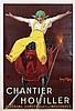 Poster by Jean d' Ylen - Chantier Houiller, Jean D'ylen, €480