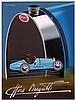 Poster by Pièrre Fix-Masseau - Ettore Bugatti, Pierre Fix-Masseau, €260