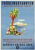 Poster by Albert Fuss - HAPAG Frühlingsfahrten nach Westindien und Florida, Albert Fuss, €300
